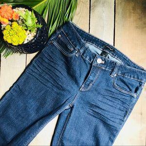 WHBM Slim Jeans- EUC- Size 2R